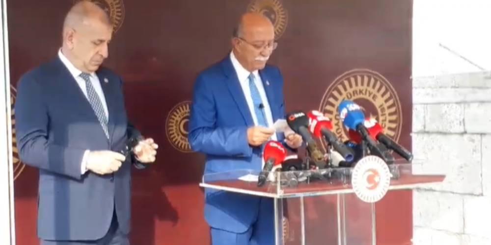 İYİ Parti'de deprem! Özdağ ihraç, Koncuk istifa