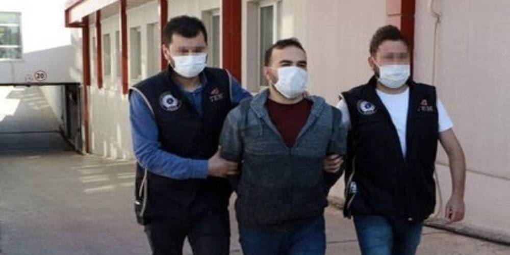 Sözde terörist elebaşı Duran Kalkan'ın telsiz ve medya işlerini yürüten terörist yakalandı