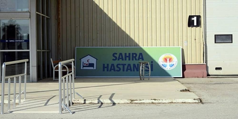CHP'li Adana Büyükşehir Belediyesi'nin 'Sahra Hastanesi' çöp oldu!
