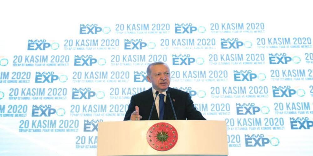 """Cumhurbaşkanı Erdoğan: """"Türkiye'yi faiz, enflasyon, kur sarmalından çıkarmalıyız"""""""