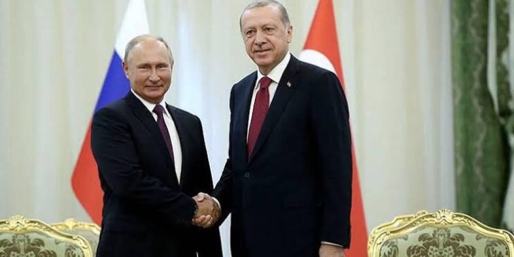 Cumhurbaşkanı Erdoğan'dan Putin ile kritik görüşme: Dağlık Karabağ, Suriye ve Libya'daki gelişmeler ele alındı