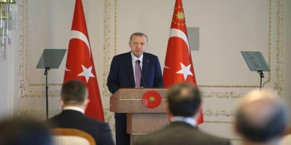 Cumhurbaşkanı Erdoğan TİM heyetini kabulünde konuştu: Demokrasimizi güçlendirerek yatırımları canlandıracağız