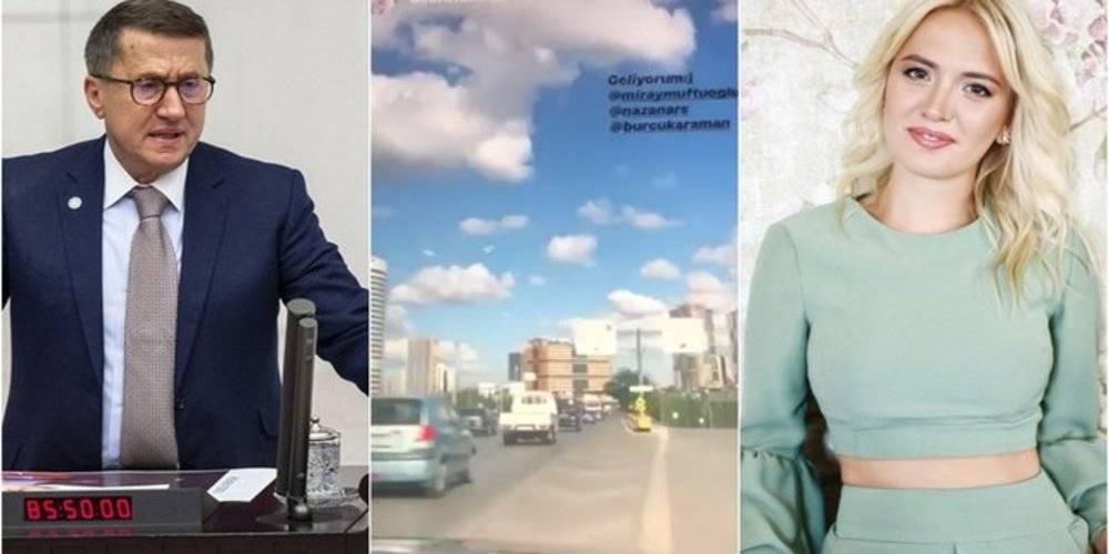 İyi Partili Lütfü Türkkan'ın kızı Dilara Türkkan'dan zamansız paylaşım!  İzmir depremi oldu, indirim paylaştı