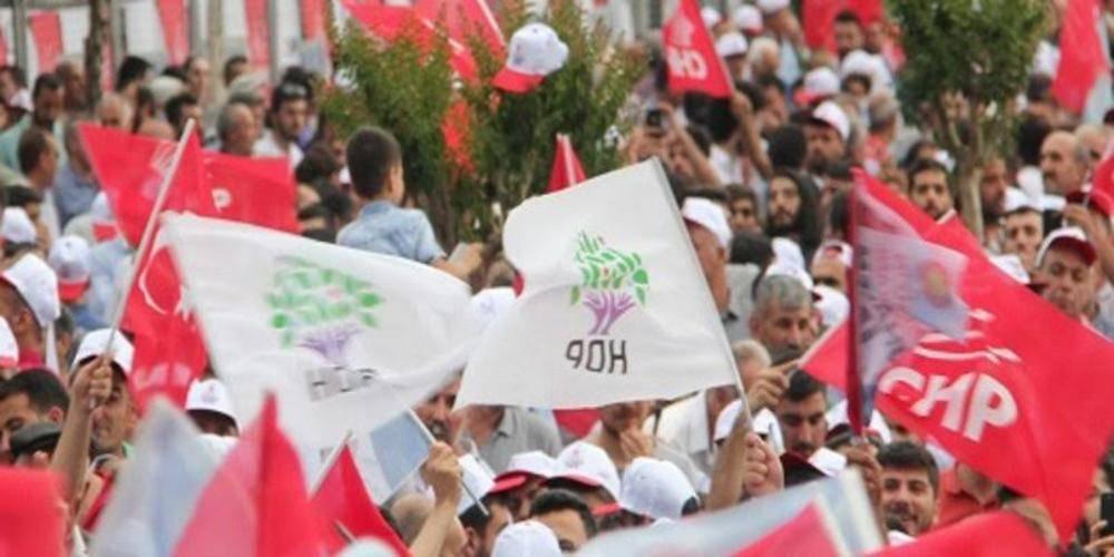 PKK'nın siyasi uzantısı HDP'ye destek CHP'yi böldü