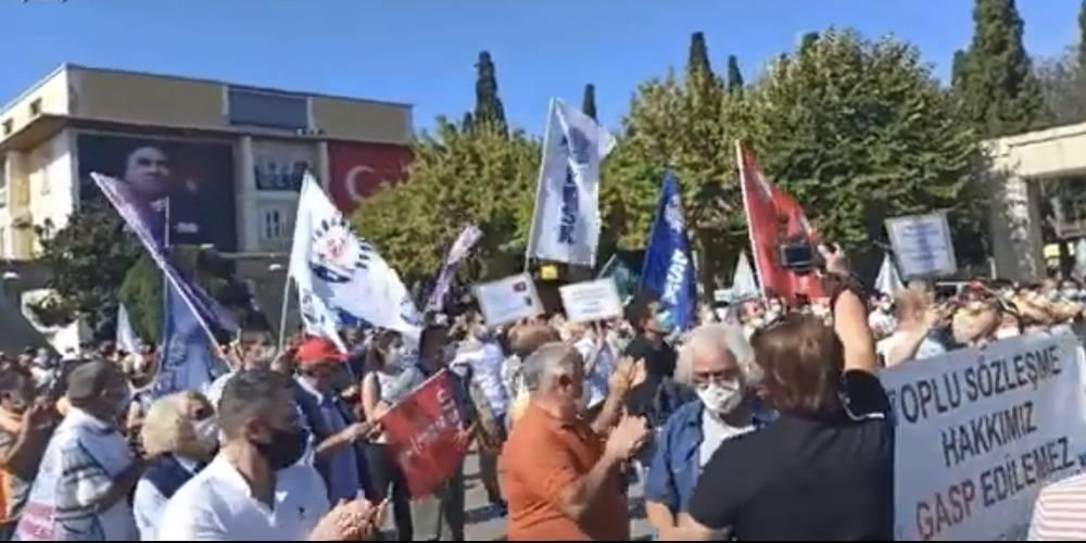Her gün başka bir CHP'li belediye... Bakırköy Belediyesi işçileri: Hakkımızı alana kadar eylemler devam edecek