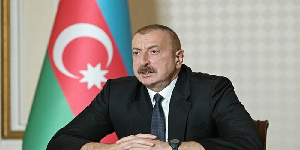 Azerbaycan Cumhurbaşkanı Aliyev: İran sınırında bulunan işgal altındaki topraklar tamamen kurtarıldı
