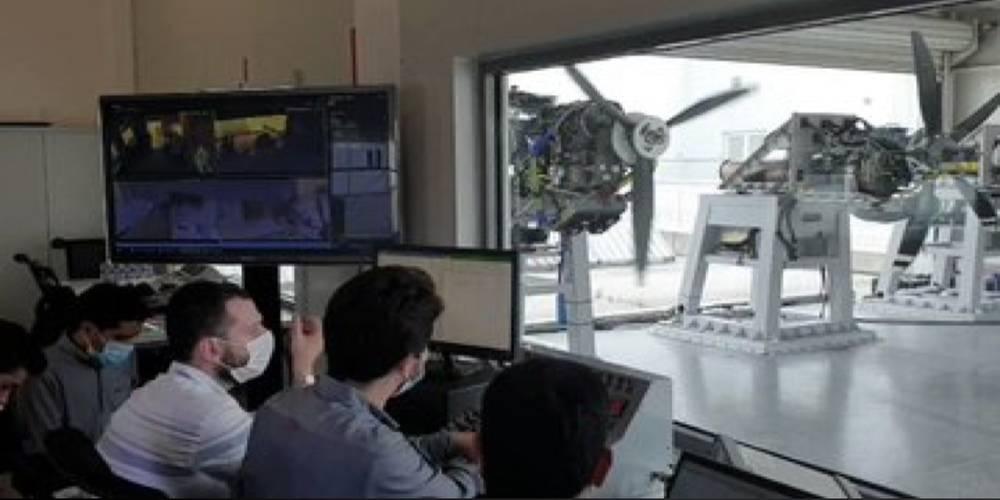 Selçuk Bayraktar yerli üretim uçak motoruna ilişkin video paylaştı