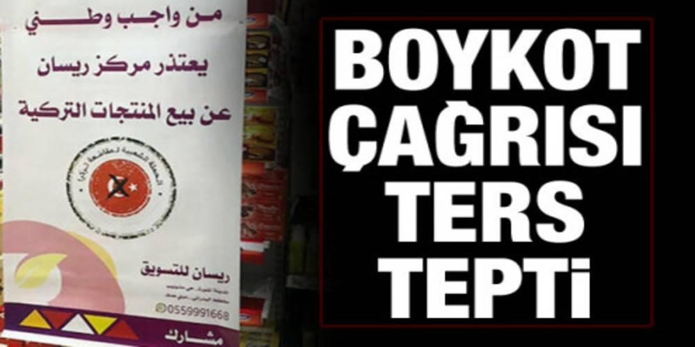 Suudi Arabistan'ın boykot çağrısı ters tepti!  Arap aktivistlerden Türkiye'ye destek