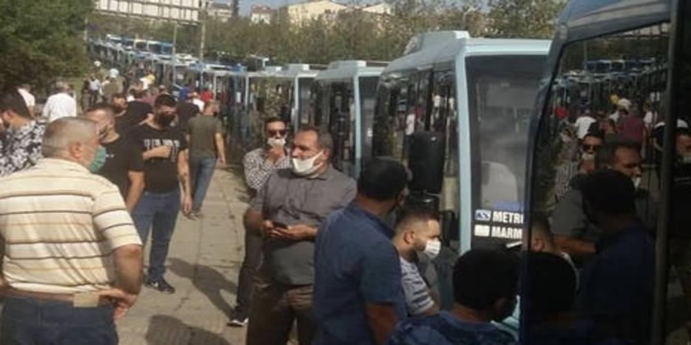 Ekrem İmamoğlu yine sözünü tutmadı... İstanbul'da dolmuşçular eylem yaptı!