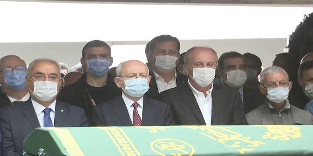 Kemal Kılıçdaroğlu ile yan yana saf tuttu!  CHP Genel Merkezi'nden Muharrem İnce'ye sansür