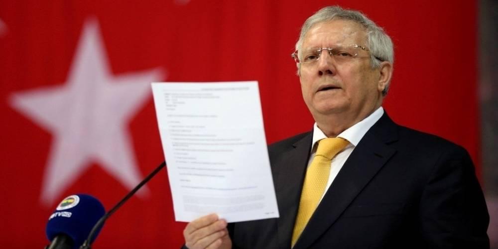 Aziz Yıldırım'a 1 yıl spor müsabakalarından men ve 6 bin lira para cezası