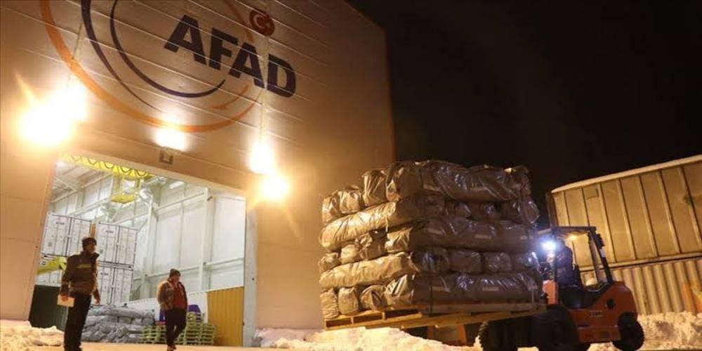 AFAD: Bölgeye 8 milyon TL yardım ödeneği gönderildi