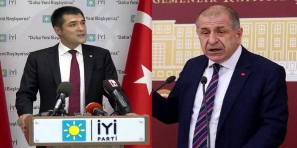 Ümit Özdağ'dan İYİ Parti İstanbul İl Başkanı Buğra Kavuncu için FETÖ'cü iması
