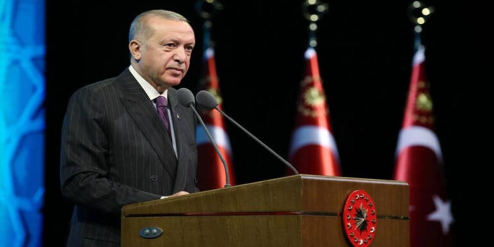 Cumhurbaşkanı Erdoğan'dan Macron'a tepki: Sen kimsin ki 'İslam'ın yapılandırılması' diye bir ifadeyi ağzına alıyorsun