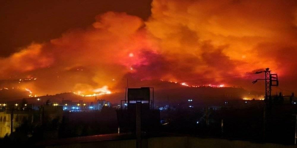 Hatay Valiliği'nden orman yangını ile ilgili açıklama