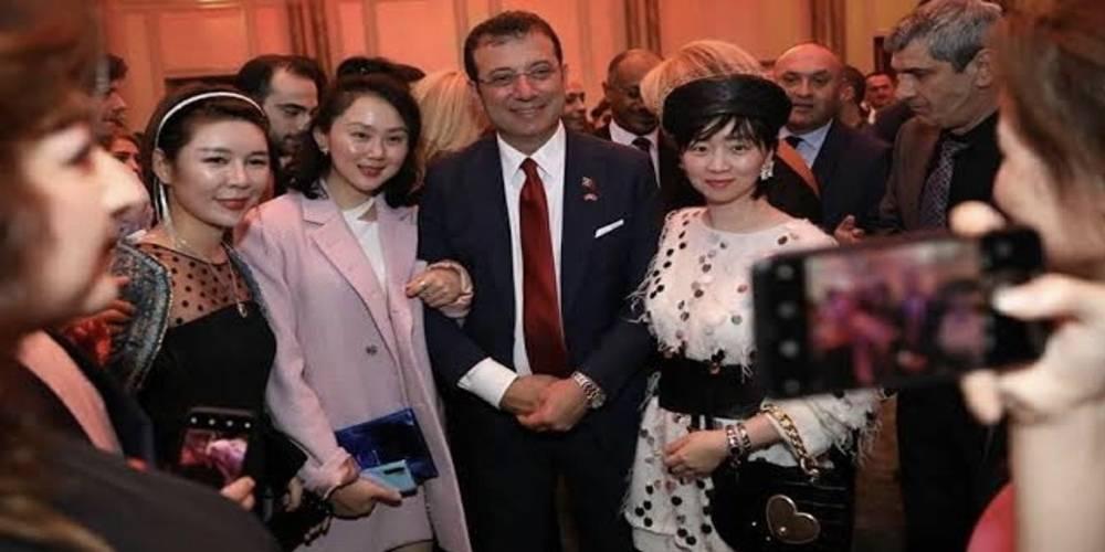 İBB Başkanı Ekrem İmamoğlu'nun, Uygur Türklerine zulmeden Çin Halk Cumhuriyeti'nin kuruluş yıl dönümünü kutlaması tepkiye yol açtı