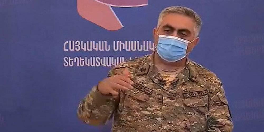 Ermenistan Savunma Bakanlığı Sözcüsü: Geri çekilmek yenilgi değildir