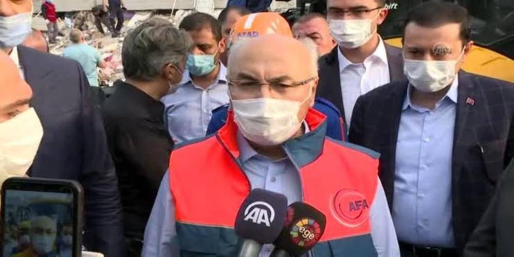 İzmir Valisi Köşger açıkladı: Enkaz altından 70 kişi kurtarıldı