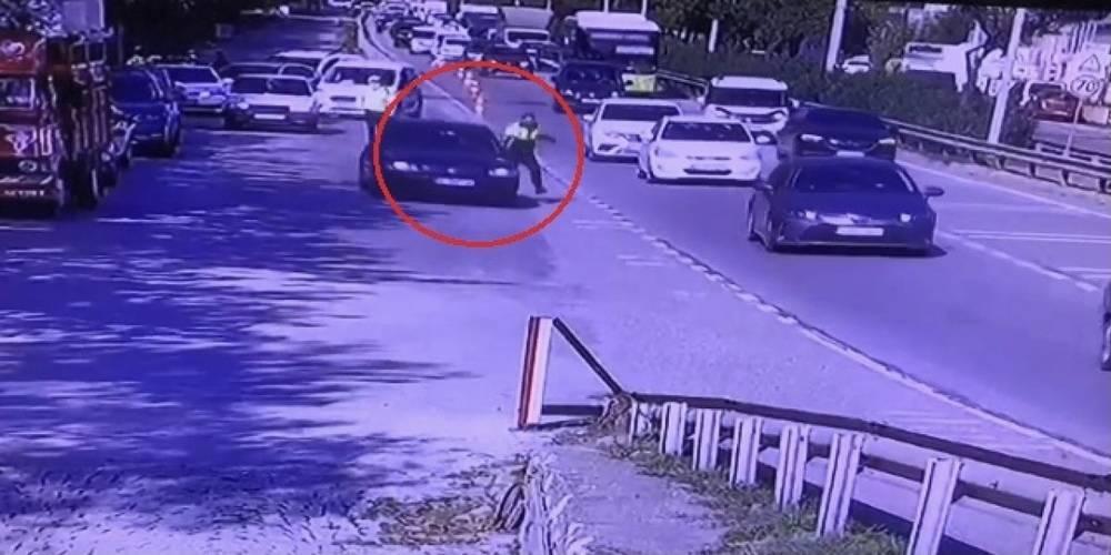 Polisi aracıyla sürükleyen CHP'li Bülent Sadıkoğlu yakalandı