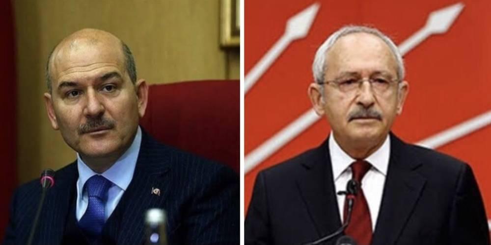 İçişleri Bakanı Soylu'dan CHP Genel Başkanı Kemal Kılıçdaroğlu'na sert tepki