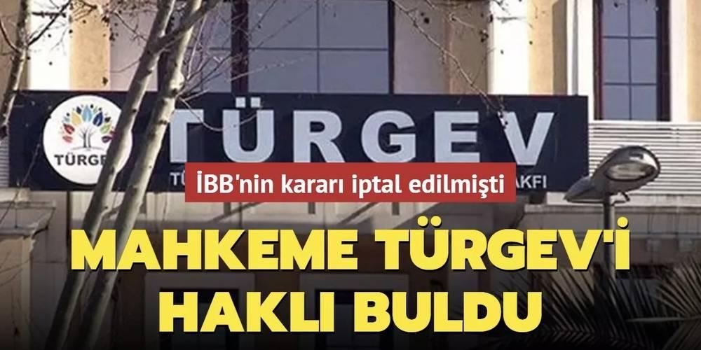 Öğrencileri yurttan çıkaran İBB'ye ret: Mahkeme TÜRGEV'i haklı buldu