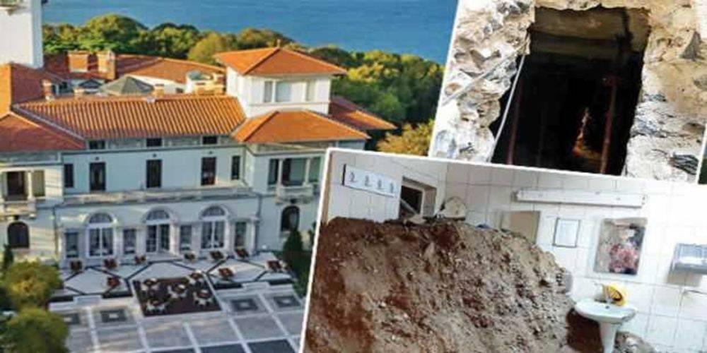 İBB, 1907'de yapılan Beykoz'daki Hidiv Kasrı'nda izinsiz kazı başlattı!