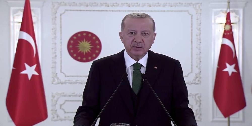 Cumhurbaşkanı Erdoğan: İklim değişikliği ile mücadelede en ön saflardayız