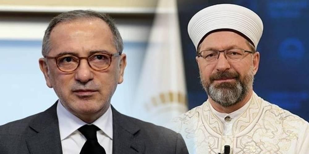 Diyanet, Fatih Altaylı'yı dava edecek