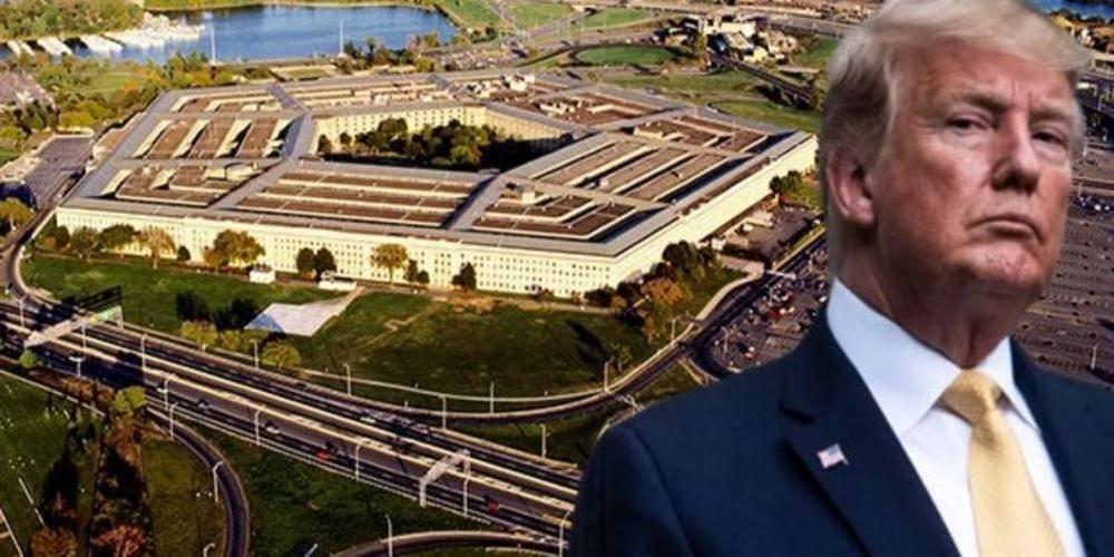 Trump: Pentagon'un başındakiler beni sevmiyordur