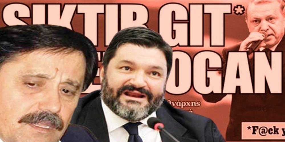 Yunan provokasyonu bitmiyor! Alçak manşeti tekrar servis ettiler