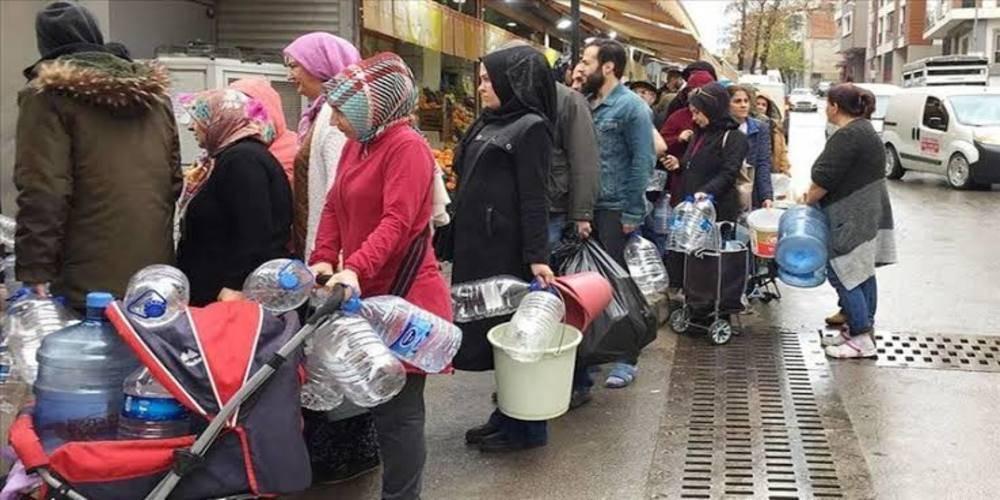 İzmir'de yine sular kesildi