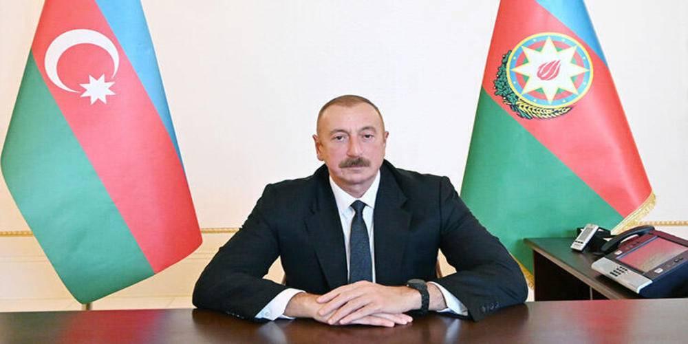 """Azerbaycan Cumhurbaşkanı Aliyev """"Azerbaycan'ın tek koşulu Ermenistan ordusunun geri çekilmesidir"""""""