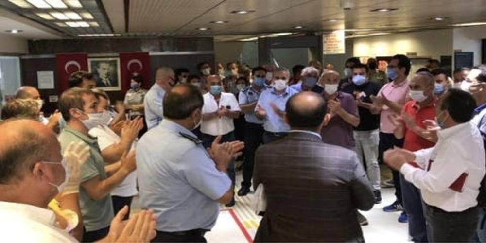 CHP'li Bakırköy Belediyesi'nde yine eylem var