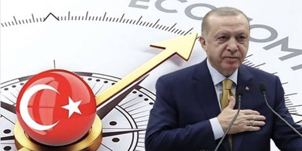 Türkiye ekonomisi, yılın ikinci çeyreğinde yüzde 21,7 oranla rekor büyüme kaydetti