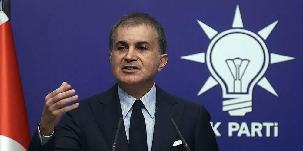 AK Parti Sözcüsü Çelik'ten Güney Kıbrıs'ta ders kitabından Atatürk sayfasının yırtılmasına tepki