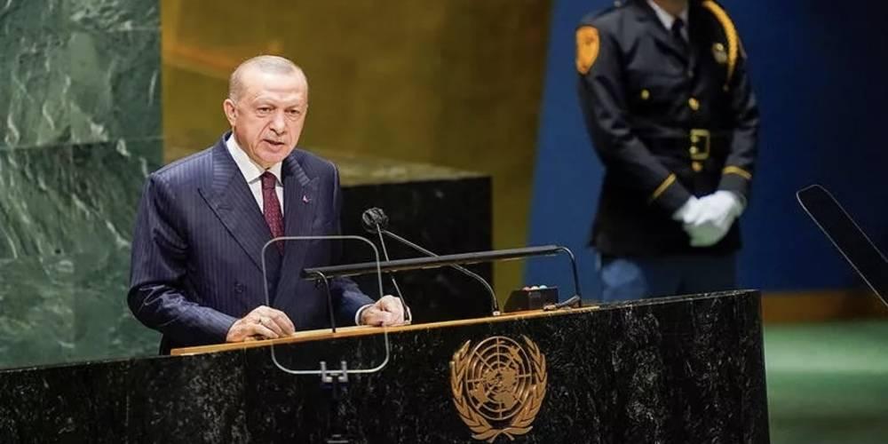 """Cumhurbaşkanı Erdoğan: """"Türkiye, iklim değişikliği ve çevrenin korunması hususlarında da üzerine düşenleri yapacaktır."""""""