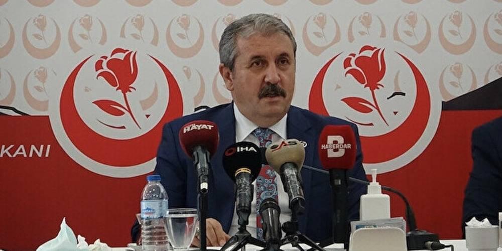 BBP Genel Başkanı Mustafa Destici: PKK tarafından kurulan HDP kapatılmalıdır