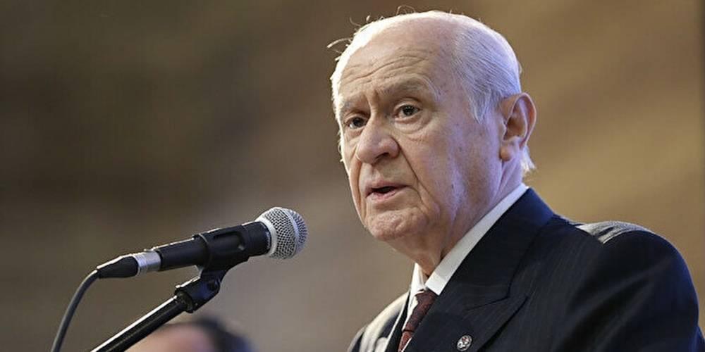 MHP Genel Başkanı Devlet Bahçeli: Diyanet İşleri Başkanı'nın duasına tahammül edemeyenler izan ve insaflarını kaybetmiştir