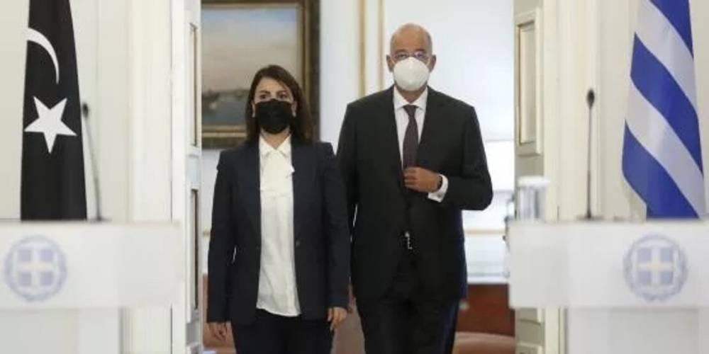 Libya ile görüşen Yunanistan'da Türkiye paniği!