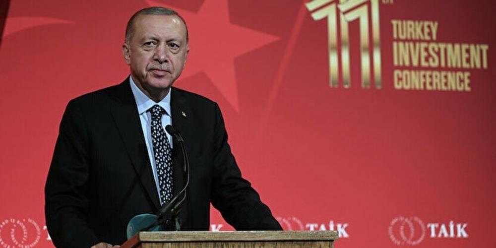 Cumhurbaşkanı Erdoğan ABD'li iş insanlarıyla buluştu: Türkiye küresel ticarette giderek daha fazla ön plana çıkıyor