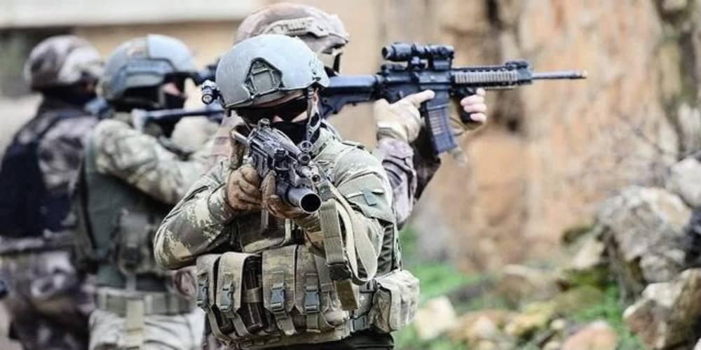 Turuncu ve Gri kategoride aranan teröristler etkisiz hale getirildi