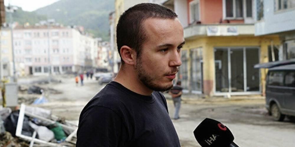 Bozkurt'ta afetzede genç: Yapılan yardım zararından fazlaydı… 750 bin lirayı iade etti!