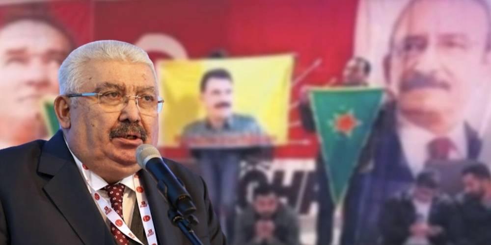 MHP Genel Başkan Yardımcısı Semih Yalçın: Marksistlerin yuvası, terör militanlarının hamisi işlevini üstlenen CHP…
